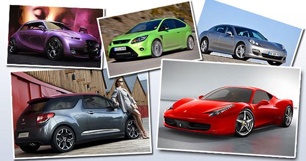 Les 10 voitures de l'année