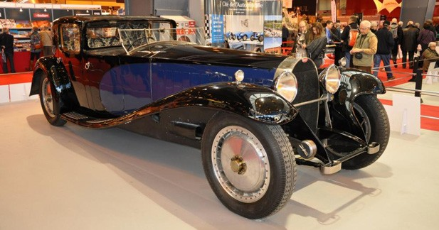 Bugatti Type 41 Royale : star de Rétromobile 2015