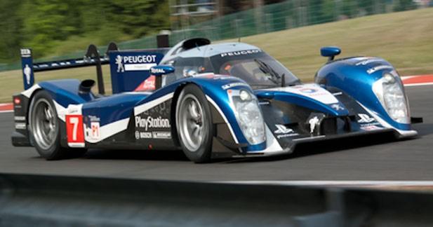 Un doublé Peugeot devant Audi à Spa-Francorchamps