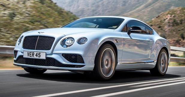 Bentley: mise à jour des Continental GT et Flying Spur