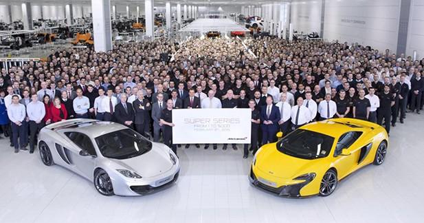 Déjà 5000 exemplaires pour les McLaren « Super Series »