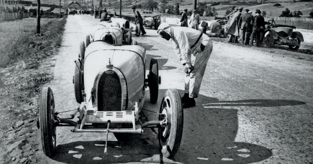 Les Bugatti de course et leurs spécificités