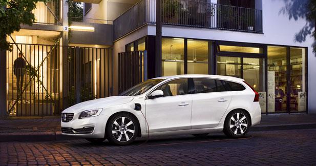 Volvo double la production de la V60 hybride rechargeable