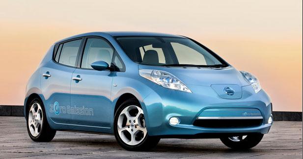 Nissan n'atteindra pas ses objectifs de ventes avec la Leaf en 2012