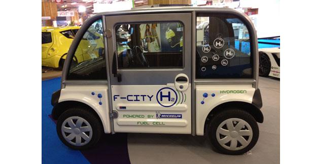 F-City H2 : une pile à combustible en tant que prolongateur d'autonomie