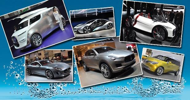 Les concepts stars du salon de Francfort 2011