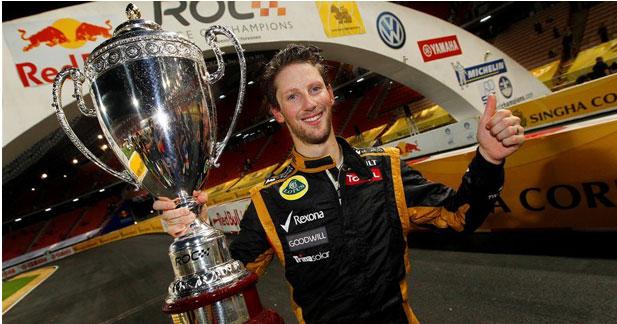 Romain Grosjean garde son baquet chez Lotus F1