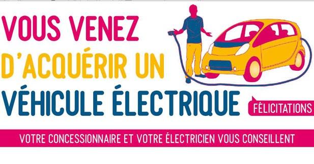 Une campagne pour recharger son véhicule électrique en toute sécurité