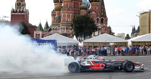 Moscou candidate à l'organisation d'un GP de F1