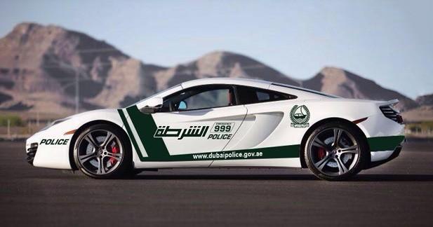 La police de Dubaï ajoute la McLaren 12C à ses véhicules d'intervention