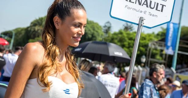 Les grid girls argentine de la Formule E