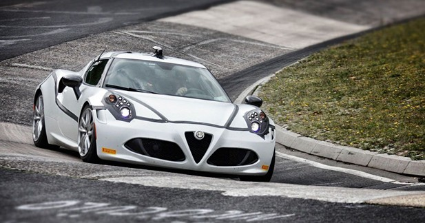 Le tour de l'Alfa 4C au Nürburgring en vidéo
