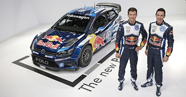 Voici la nouvelle Volkswagen Polo WRC pilotée par Sébastien Ogier