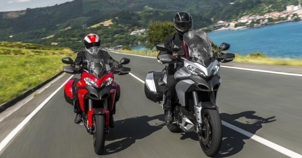 Les nouvelles Ducati Multistrada 2013 à l'essai