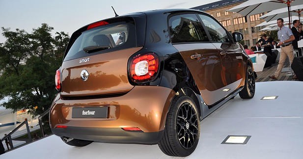 Fortwo + 80 cm = Forfour