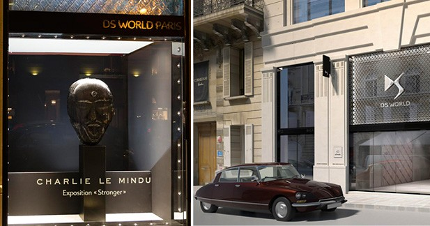 Exposition ''Stronger'' au DS World Paris