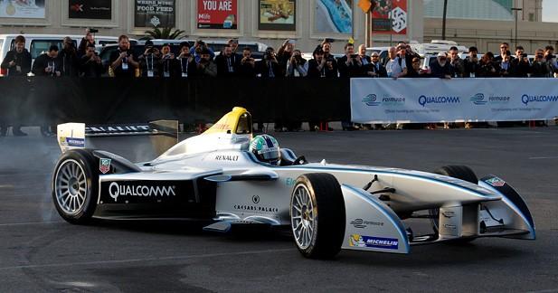 Première démonstration en public à Las Vegas pour la Formula E