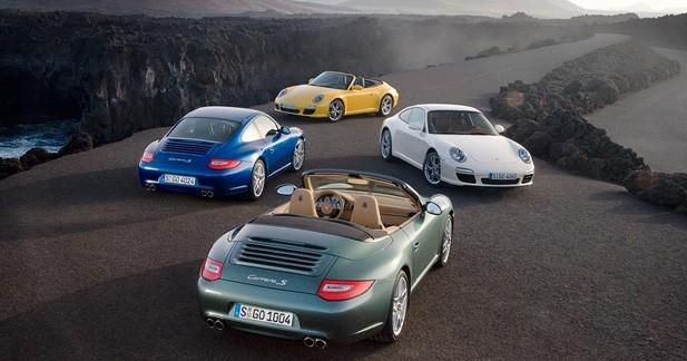 Les Porsche d'hier et d'aujourd'hui