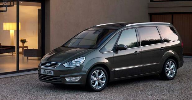Ford Galaxy restylé : à partir de 29 700 euros