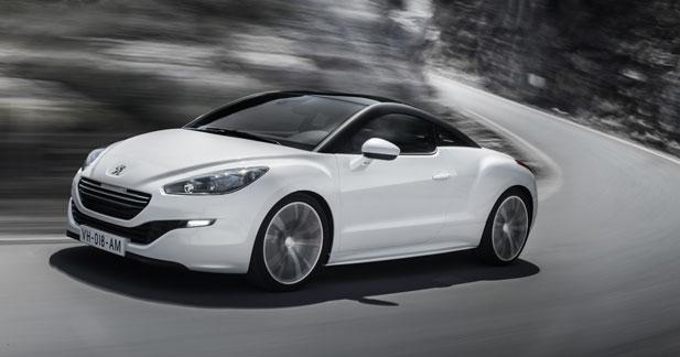 Le Peugeot RCZ restylé débute à 29 900 euros