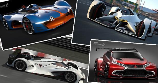 Les prototypes de Gran Turismo6 : carte blanche aux designers