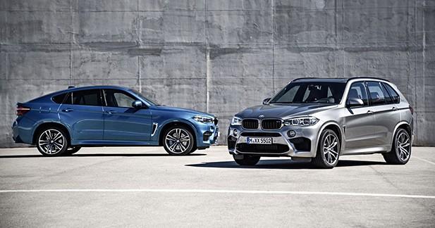 575 ch pour les BMW X5M et X6M présentés au salon de Los Angeles