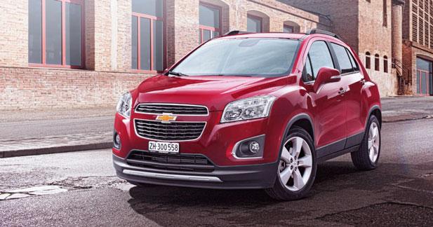 Chevrolet Trax : à partir de 17 990 €