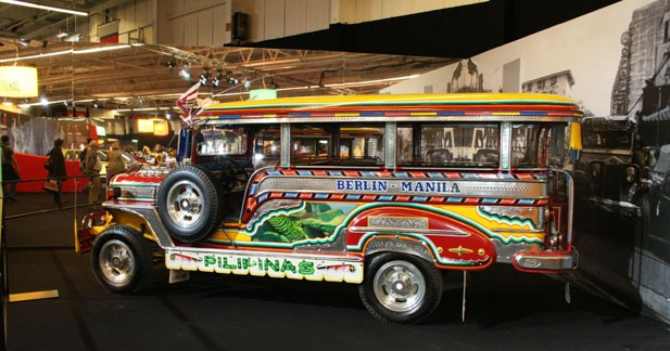 Jeepney - Manille - 1987