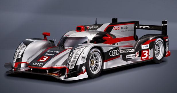 Avantage Audi pour les essais des 24 H du Mans