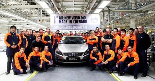 Boosté par la Chine Volvo remonte la pente