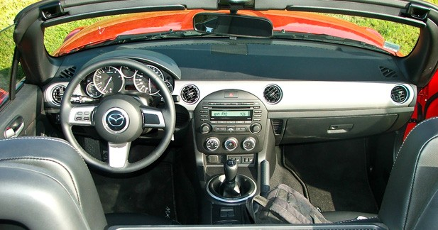 Un cockpit dédié au plaisir de conduite