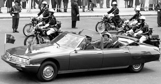Les voitures fétiches des Présidents français