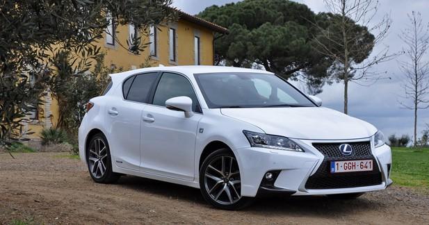 Essai Lexus CT 200h F Sport restylée : premier échelon de l'hybride premium