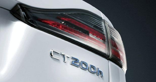 Lexus CT 200h : l'hybride s'immisce chez les compactes ''Premium''