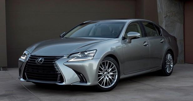 Lexus GS restylée: un peu plus européenne