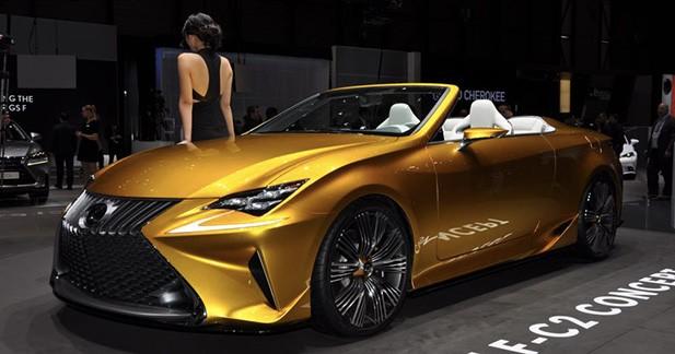 LF-C2 : le cab 2+2 vu par Lexus