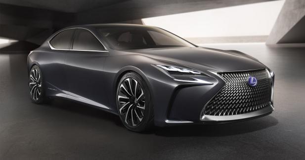 Lexus LF-FC: bientôt une limousine hydrogène chez Lexus