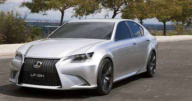 Lexus LF-Gh Concept : Berline grand tourisme version hybride