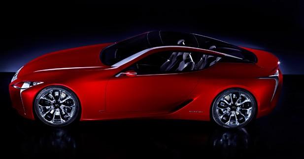 Lexus LF-LC : Caprice de star