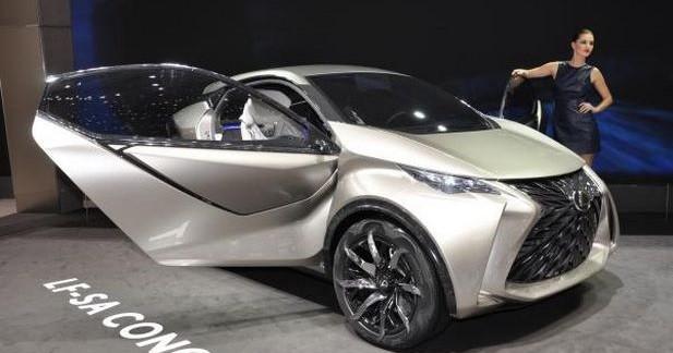 Lexus LF-SA: un concept de citadine totalement décalé