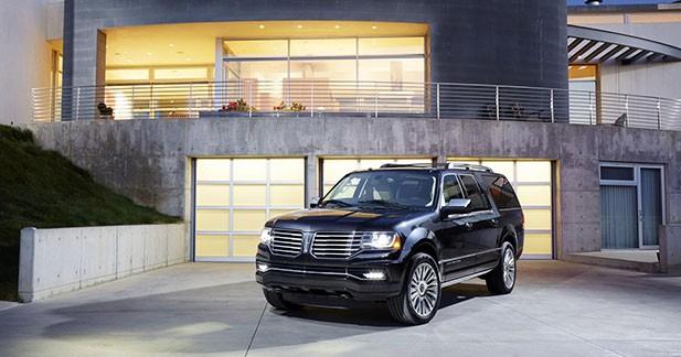 Nouveau Lincoln Navigator : c'est l'escalade