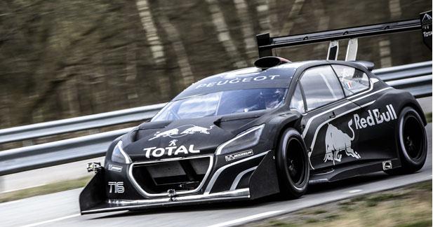 La 208 T16 Pikes Peak de Sébastien Loeb est une fusée