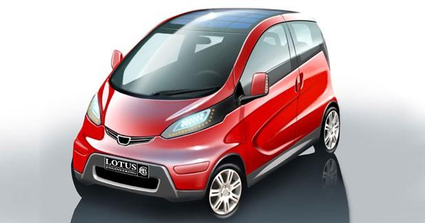 Electric City Car : Lotus branché par l'écologie