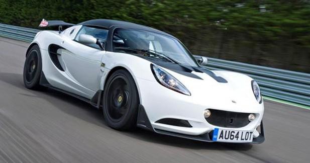 Lotus Elise S Cup, sortie des pistes