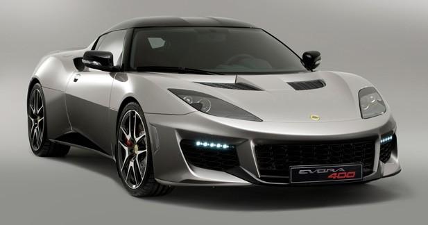 Evora 400: la Lotus la plus performante de son histoire