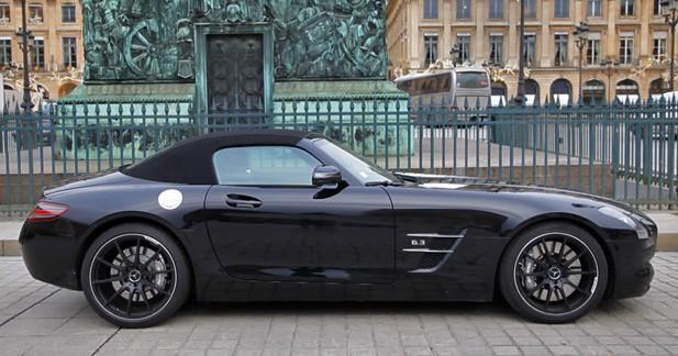 … ou en Mercedes SLS AMG Roadster
