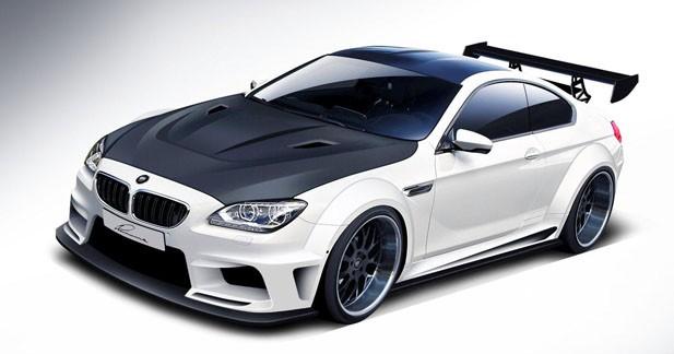 Le préparateur Lumma ''carbonise'' une BMW M6
