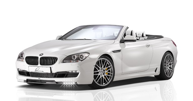 Lumma dope la BMW 650i cabriolet