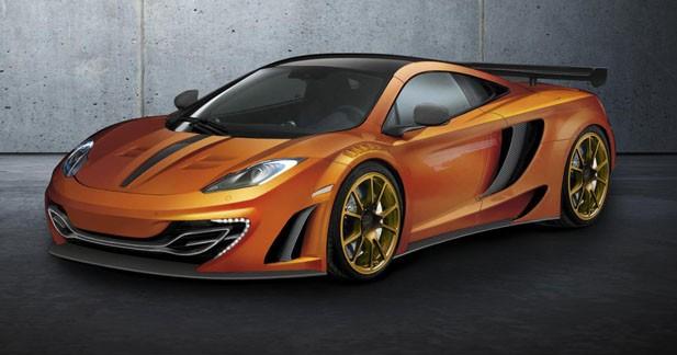 Mansory : un programme choc pour la McLaren MP4-12C