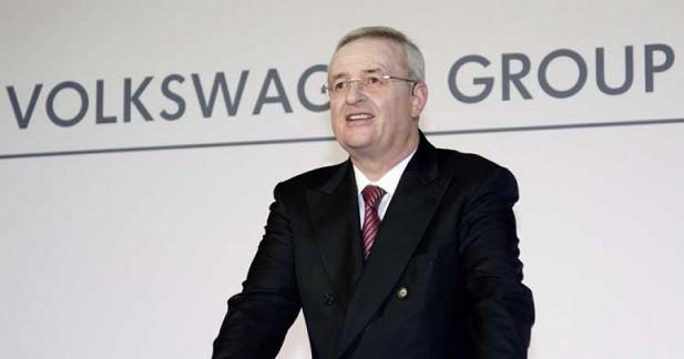 Le patron de Volkswagen officialise sa démission
